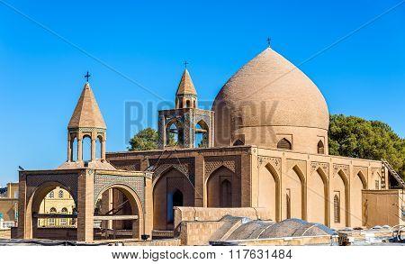 Holy Savior Cathedral (vank Cathedral) In Isfahan, Iran
