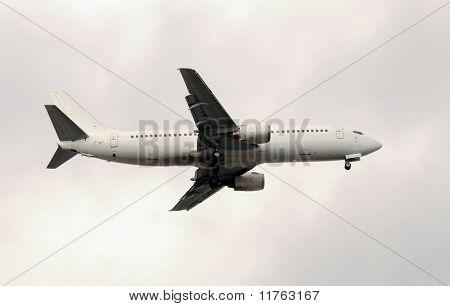 White Jet Airplane