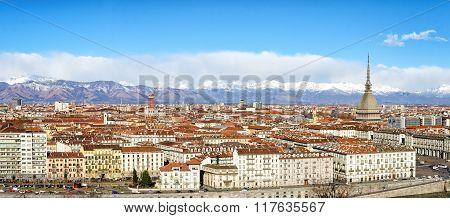 Turin (torino) High Definition Panorama