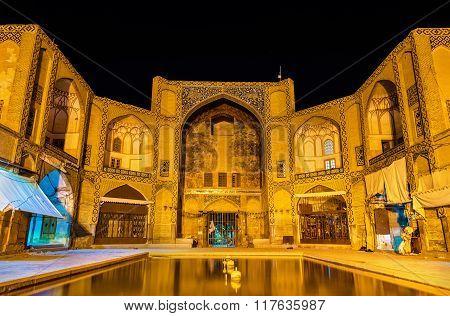 Qeysarieh Portal, Entrance To Bazar-? Bozorg In Esfahan