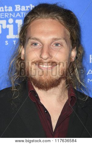 SANTA BARBARA - FEB 9:  Adam Stumle at the 31st Santa Barbara International Film Festival Montecito Award at the Arlington Theatre on February 9, 2016 in Santa Barbara, CA