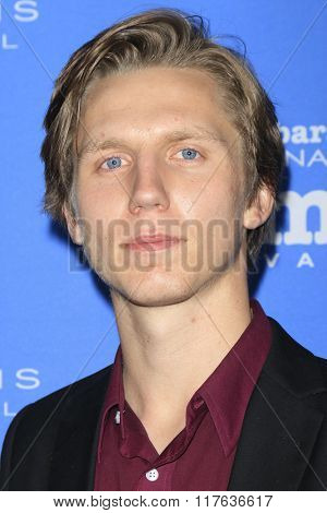 SANTA BARBARA - FEB 9:  Martin Risberg at the 31st Santa Barbara International Film Festival Montecito Award at the Arlington Theatre on February 9, 2016 in Santa Barbara, CA