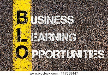 Business Acronym Blo