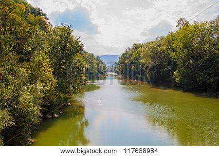 Psekups River, Russia