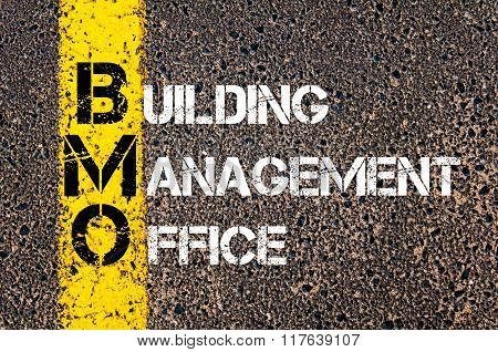 Business Acronym Bmo Building Management Office