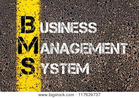 Business Acronym Bms Business Management System