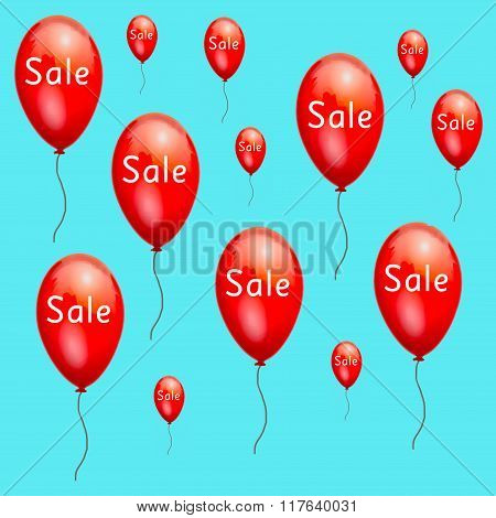 Fun red advertising balloons sale low prices.