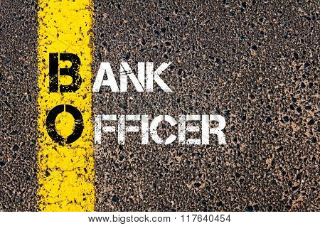 Business Acronym Bo Bank Officer