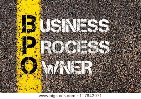 Business Acronym Bpo Business Process Owner