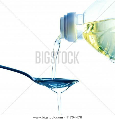 pouring oil