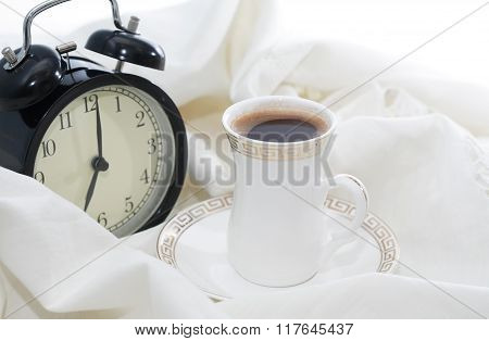 Alarm Clock And Coffee