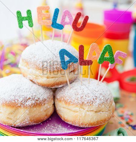 Fresh Doughnuts For Carnival