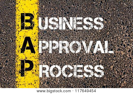 Business Acronym Bap Business Approval Process