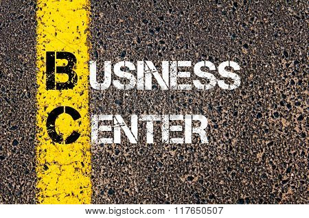 Business Acronym Bc Business Center