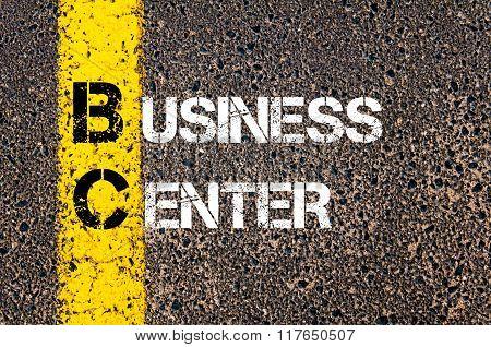 Business Acronym Bc Business Center