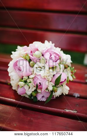 The Bride's Wedding Bouquet