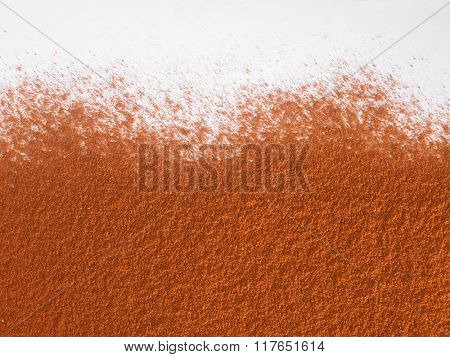 texture of the curry powder