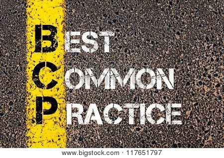 Business Acronym Bcp Best Common Practice