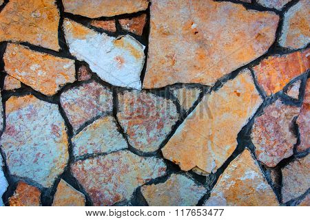 stone wall - abstract natural background