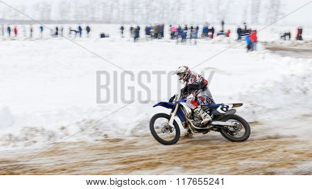 Winter Motocross Competition