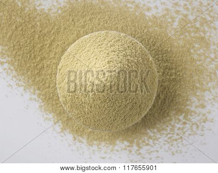 top view of the coriander powder