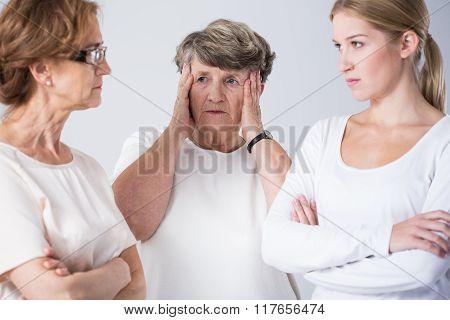 Dispute Between Mother And Daughter