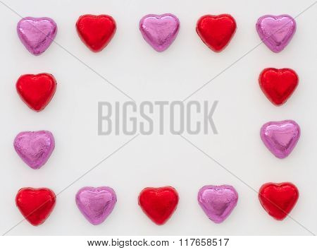 Chocolate Heart Picture Frame
