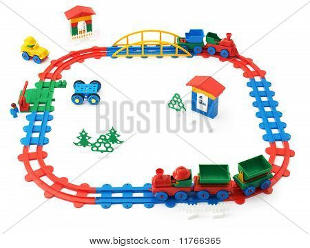 Children's Railway, Trains And Other Toys