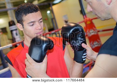 boxing coach