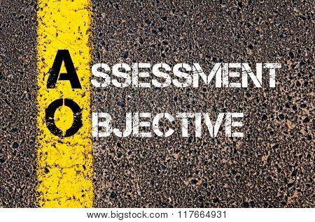Business Acronym Ao Assessment Objective
