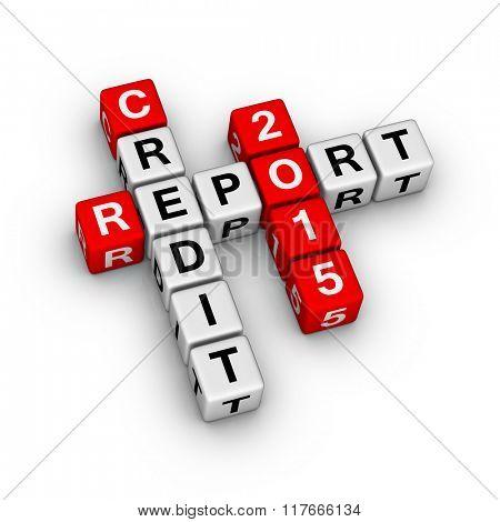 Credit report 2015 crossword puzzle