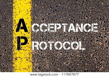 Business Acronym Ap Acceptance Protocol