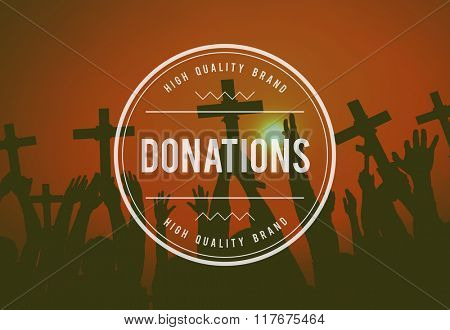 Donation Charity Contribute Give Grant Handout Concept