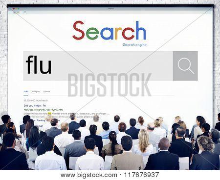 Flu Fever Illness Medical Sick Virus Cold Disease Concept