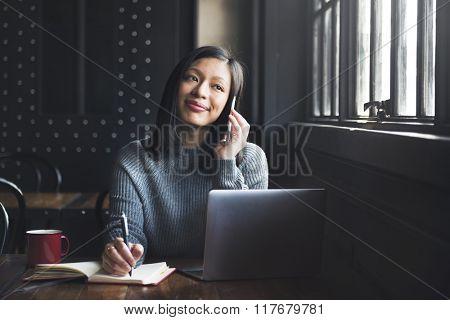 Calling Online Communication Conversation Concept