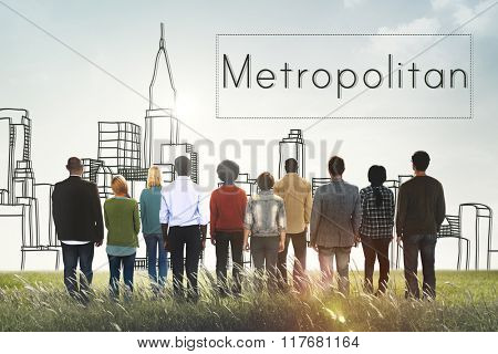 Metropolitan City Urban Democracy Advanced Concept