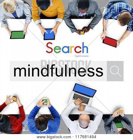 Mindfulness Concious Spirituality Zen Awareness Concept