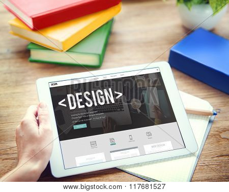 Design Creative Draft Objective Outline Planning Concept