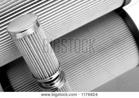 Cylinder Sharped Filter