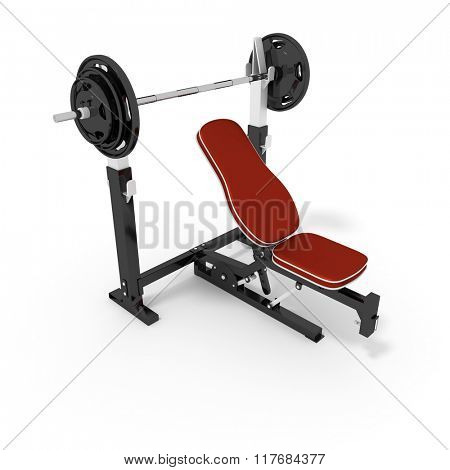 An image of a typical bodybuilder bench