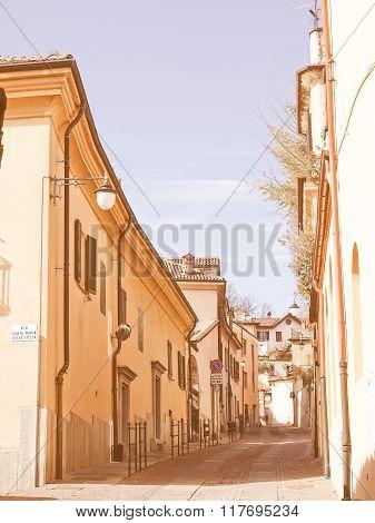 Rivoli Old Town, Italy Vintage