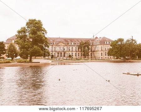Gardens In Stuttgart Germany Vintage