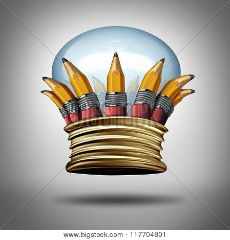 Innovation And Ideas Crown