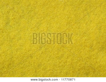 yellow felt fabric