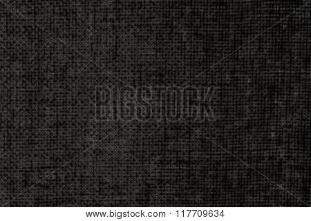 Woven grey and black warp background