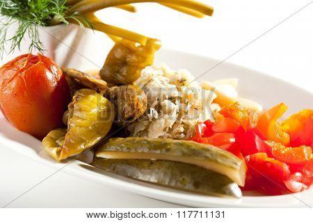 Crisp Pickled Vegetables