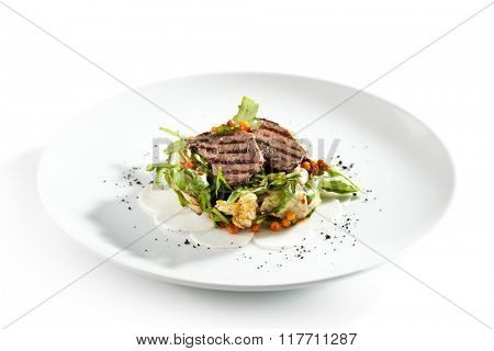 Grilled Meat Salad