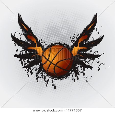 Basketball Design Element Set