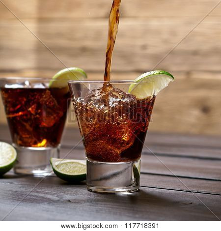 Pour The Rum And Cola Cuba Libre