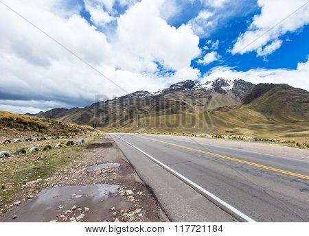 landscape of Arequipa, Peru